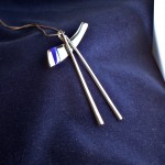 Chopsticks necklace